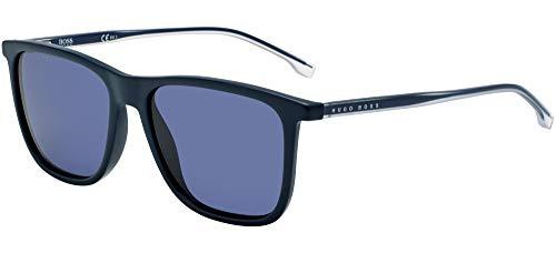 Hugo Boss Boss 1148/S, Gafas de sol Hombre, matte blue, 56