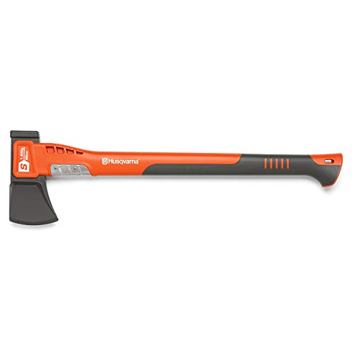 Husqvarna 28 in. Steel Splitting Axe with Fiberglass Handle