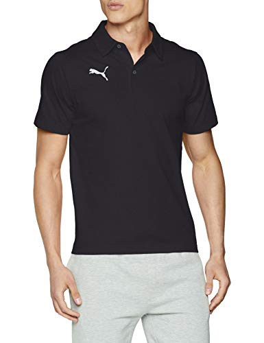 PUMA 655310 Polo shirt Homme, Black White, (FR :48/50) , (Taille Fabricant : M)