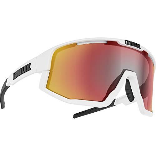Bliz Fusion Sportbrille, matt White-somke red Mulit