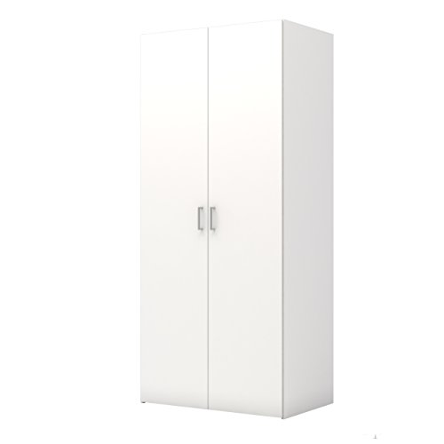 Tvilum Space Wardrobe with with 2 Doors, White