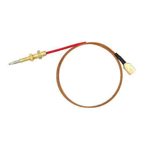 Meter Star Gas Open Haard Thermokoppel Grillplaat Onderdelen Temperatuur Sensor, M60.75 Totale Lengte: 600mm, Draadlengte 520mm
