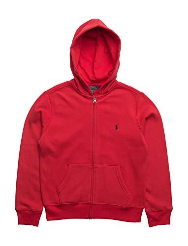 Polo Ralph Lauren Jungen Zip Up Hoodie RL2000 Rot 5