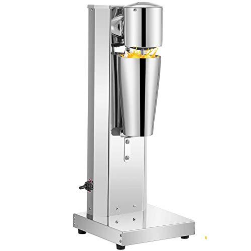 VEVOR Milkshake Maker 700 ML 180W Milkshake Fabricante De Acero Inoxidable Batidora de Helado Batidora De Bebidas Comercial para Cafeteria Restaurante Bar