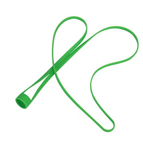 VORCOOL Sigaretta Elettronica in Silicone Cordino per Collo in Laccio Corda per Appendere Anello Ego Hole (Verde)