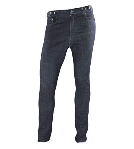 Jeanstrack Venice Jeans Pantalón de Ciclismo Urbano, Unisex Adulto, Rinse, M