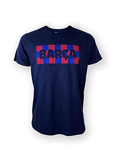 R ROGER'S Camiseta FC Barcelona Barça (Azul, Azul Marino y Gris) (Azul Marino, S, s)