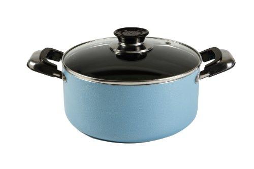 Vinaroz VAN-2QT-BL Non-Stick Dutch Oven, 2-Quart, Blue