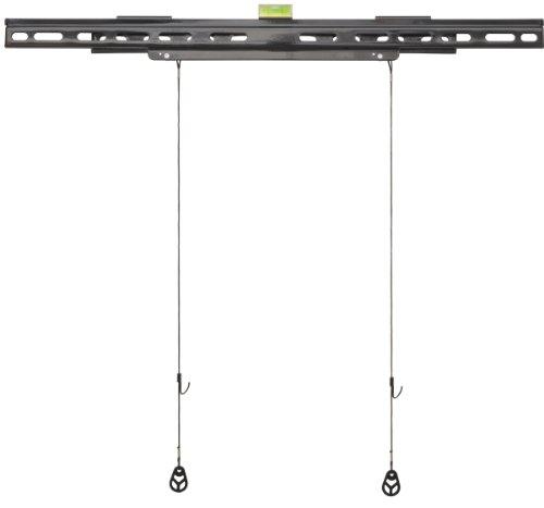 y9m–Ultra Slim Soporte de Pared Fijo Soporte de Pared para 37'–60' LED, LCD, TV Monitor/Pantallas
