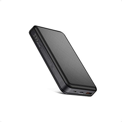 18W Power Bank 26800mAh PD & QC 3.0 Batería Externa USB C Carga Rápida Cargador Movil Portátil Compacto con 2 Entradas y 2 Salidas para iPhone, iPad, Samsung, Huawei, Xiaomi y más
