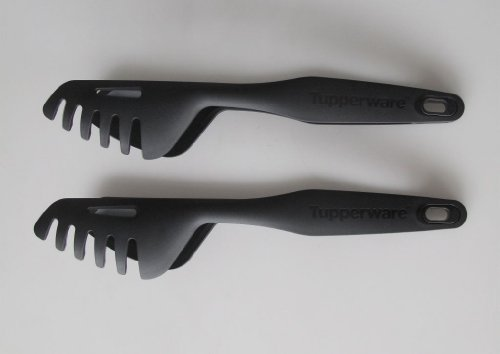 TUPPERWARE Griffbereit Chef-Zange (2) schwarz Multi-Greifer TOP-Universalzange