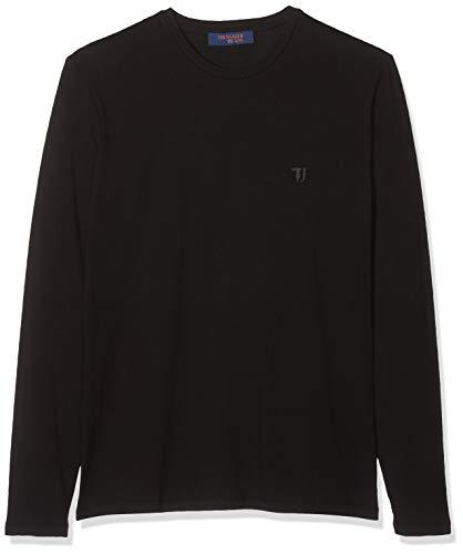 Trussardi Jeans T-Shirt Jersey Stretch Regular, Nero (Black K299), Large (Taglia Produttore:L) Uomo
