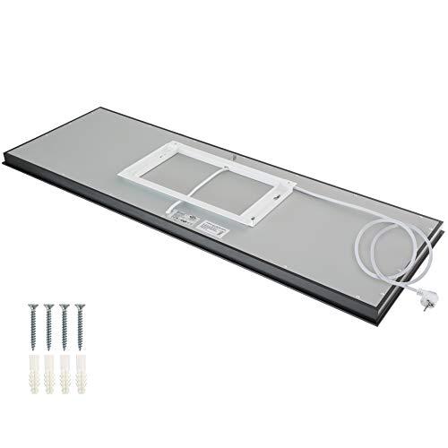 TecTake 800401 Spiegel Infrarotheizung GS-geprüft von TÜV SÜD Überhitzungsschutz Bild 5*