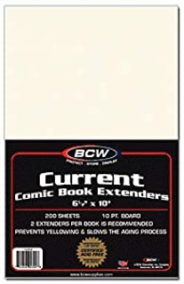 BCW 1-CUR-CE Current Comic Extenders