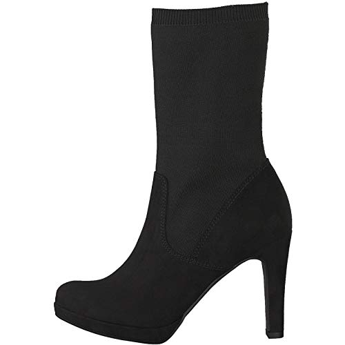 Tamaris Damen Stiefeletten Woms Boots 1-1-25089-31/001 schwarz 539832