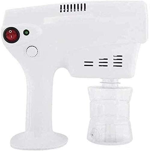 Pistola de pulverización de desinfección Nano eléctrica, Pistola de desinfección profesional de la casa de mano y aerosol comercial Pista de desinfección profesional, máquina de nebulizador portátil V
