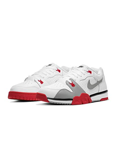 Nike Cross Trainer Low Sneaker Schuhe (White, Numeric_45)