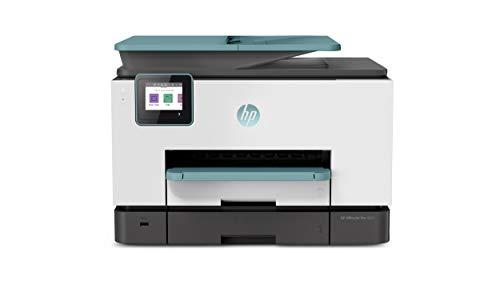 HP OfficeJet Pro 9025 Multifunktionsdrucker (HP Instant Ink, A4, Drucker, Scanner, Kopierer, Fax, WLAN, LAN, Duplex, HP ePrint, Airprint, mit 2 Probemonaten HP Instant Ink Inklusive) Oasis