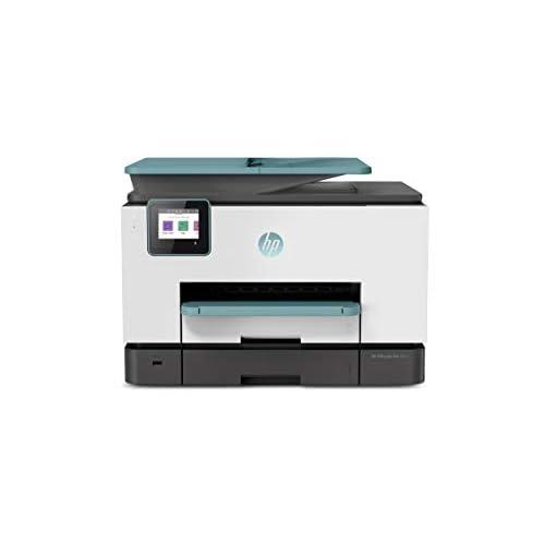 HP OfficeJet Pro 9025, Stampante Multifunzione a Getto di Inchiostro, Stampa, Scannerizza, Fotocopia, Fax, Wi-Fi Direct, Smart Tasks, 2 Mesi di Servizio Instant Ink Inclusi, Oasis