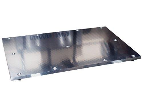 6mm Aluminium Druckbett für den Duplicator, Replicator 1, FlashForge, CTC, Makerbot 3D Drucker