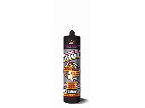 Quiadsa 52503447 Adhesivo Turbo, Gris, 290 ml