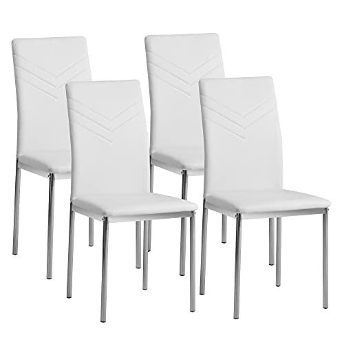 Sillas De Cocina Blancas Madera sillas de cocina blancas  Marca Albatros