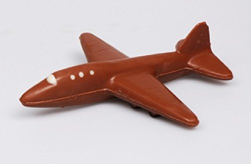 08#030621 Schokoladen Flugzeug, Vollmilch, Geschenke, Airport, Flieger, Jet, Geschenk, NEU