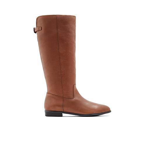 ALDO Women's Keesha Knee High Riding Boot, Cognac, 10