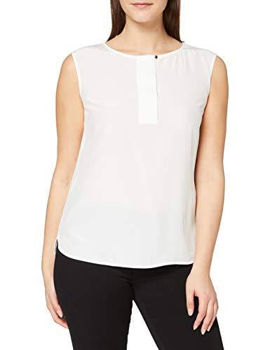 ESPRIT Collection 080EO1F309 Bluse Damen, Weiß (110/OFF WHITE), 36