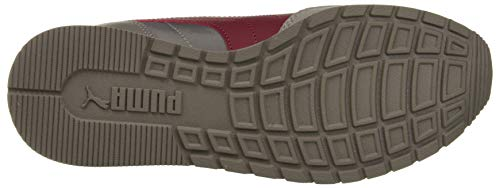 PUMA Unisex-Erwachsene St Runner V2 Nl Sneaker, Grau (Charcoal Gray-Cordovan 15), 44 EU - 3