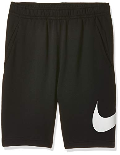 Nike M NSW Club Short BB GX Sport Homme, Black/White/(White), FR : L (Taille Fabricant : L)