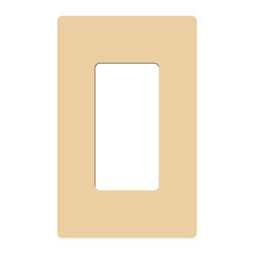 Lutron CW-1B-IV Claro Single Gang Rocker behang, ivoor