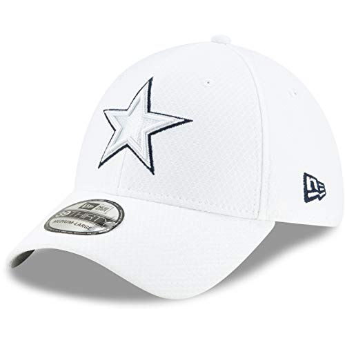 New Era 39Thirty Cap Platinum Sideline Dallas Cowboys