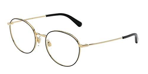 Dolce & Gabbana Brille (DG-1322 1334) Metall gold - schwarz