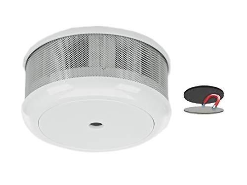 Mini 10-Jahres Rauchwarnmelder + Magnet-Set mit VDS & DIN EN14604/ Maße nur 75 x 35 mm