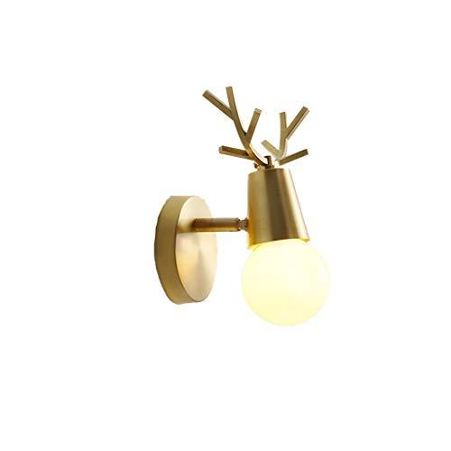 FINDYU Aplique Pared Lámpara De Pared, Lámpara Minimalista Moderna De La Cabecera del Dormitorio De La Lámpara De La Sala De Estar Luz De Pared De Fondo De TV