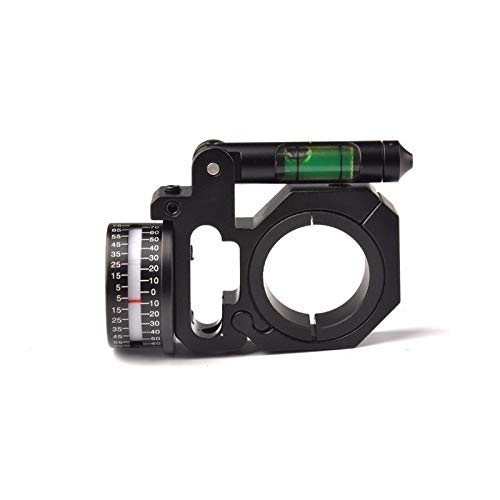 SOUFORCE Alum Angle Degree Indicator Mount with Bubble Level for Rifle Scope 25.4mm 30mm Tube