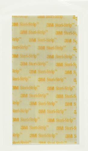 3M Steri-Strip reinforced Skin Closures - 1/2' x 4' - 10 pack of 6 strip envelope (60 strips)