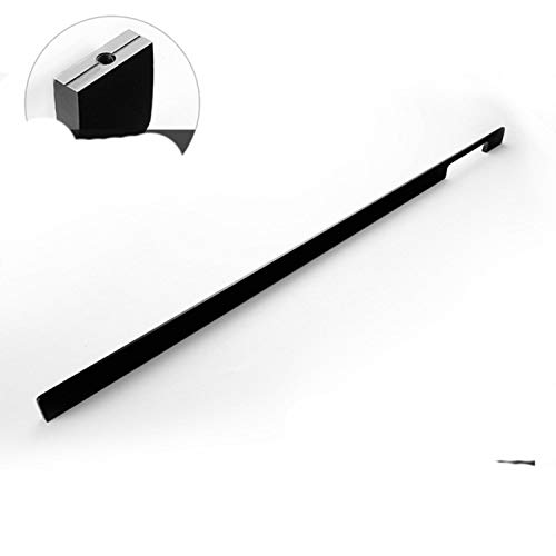 Manijas modernas americanas para puerta de gabinete 800 mm 1000 mm de largo asas de latón negro mate dorado tiradores 299