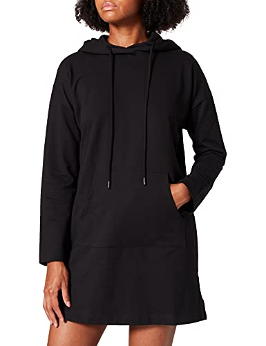 Vero Moda VMOCTAVIA LS Sweat Dress JRS GA Robe, Noir, XL Femme