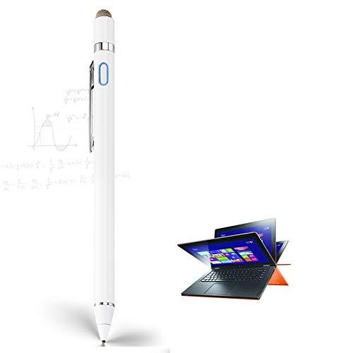 Stylus Pen for Lenovo Ideapad Flex, EDIVIA Digital Pencil with 1.5mm Ultra Fine Tip Pencil for Lenovo Ideapad Flex 3/4/5/6 11&14 Stylus, White