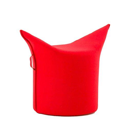 Werther – Die Möbelmanufaktur Zipfel Hocker 78 x 43 cm, h 54 cm - Rot