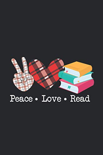 Peace Love Read Books Book Lover Teen Girls Reading Teacher...