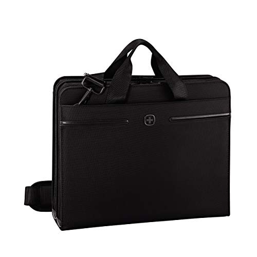 Wenger Directive Padfolio - 14'' Laptopfach 10'' Tabletfach Ringhefter Notizblock Business...