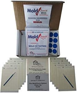DIY MoldCheck Mold Test Kit (10 Tests per Kit) Multiple air Sampling Tests, Simple Visual Comparison, Locate Mold Source, Easy to use, no lab fee