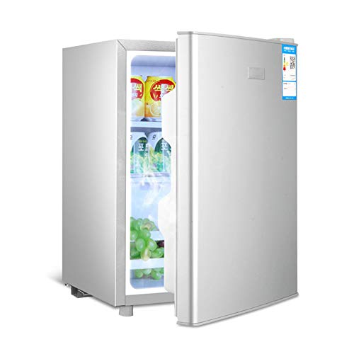 FRIDGE Frigorífico Pequeño 29L Nevera Eléctrica Termostato Regulable Nevera Retro Ahorro De Energía Frigorífico Table Top Silenciosa Mini Nevera con Compresor 55CM