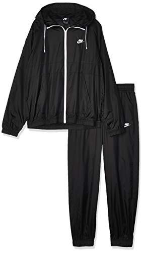 NIKE M NSW CE TRK Suit HD Wvn Chándal, Hombre, Black/Black/Black/White, L
