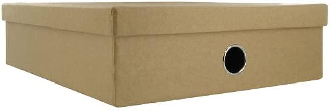 Caja Paperchase kraft papelería: Amazon.es: Oficina y papelería