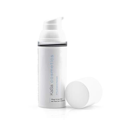 KaSa cosmetics Pflegecreme 50 ml Qualitativ hochwertige & geprüfte Pflegecreme für alle Körperregionen gegen Juckreiz & Brennen sowie trockener Haut Für Männer und Frauen