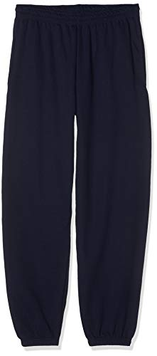 Fruit of the Loom Jogpant Elast. Beinabschluss Deep Navy - S